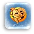 Tierkreiszeichen Widder (engl. Aries) steht in der Astrologie Horoskop Zodiak für das Geburtsdatum vom 21. März bis 20. April.