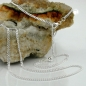 Bauchkette 2mm Flachpanzerkette 2x diamantiert Silber 925 90cm