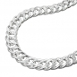 Preview: Kette 6mm Zwillingspanzerkette Silber 925 45cm