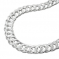 Preview: Kette 6mm Zwillingspanzerkette Silber 925 60cm