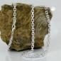 Kette 3,5mm Ankerkette 4x diamantiert Silber 925 50cm