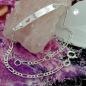 Schildarmband für Kinder 2,3mm Figarokette Gravurplatte 25x5mm mit Herz Silber 925 16cm