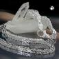Kette ca.5mm Königskette vierkant glänzend Silber 925 60cm