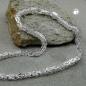 Kette 6mm Königskette vierkant glänzend Silber 925 80cm