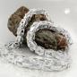 Kette ca. 8mm Königskette vierkant glänzend Silber 925 70cm