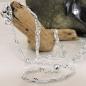 Bauchkette 2mmSingapur diamantiert Silber 925 100cm