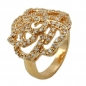 Mobile Preview: Ring, Zirkonia, gold-plattiert 3 Mikron -30063-58