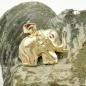 Anhänger Elefant glänzend 9Kt GOLD
