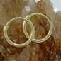 Creolen, 11mm, glänzend, 9Kt GOLD
