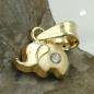 Anhänger kleiner Elefant, 9Kt GOLD