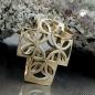 Anhänger Kreuz, Halbkreise, 9Kt GOLD