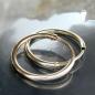 Creolen 10mm glänzend 9Kt GOLD