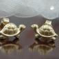 Ohrstecker, Schildkröte, 9Kt GOLD