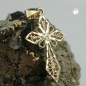 Anhänger filigranes Kreuz, 9Kt GOLD