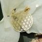 Anhänger 20mm Blume des Lebens filigran 9Kt GOLD