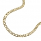Mobile Preview: Kette Collier 2,2mm Doppelpanzer 14Kt GOLD 45cm