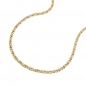 Mobile Preview: Kette 1,2mm S-Panzer 14Kt GOLD 45cm