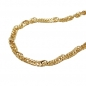 Preview: Kette 1,8mm Singapurkette 9Kt GOLD 45cm