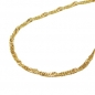 Preview: Halskette 1,3mm Singapurkette 14Kt GOLD 45cm-518003-45