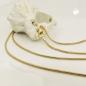 Kette 1,2mm Schlange rund 14Kt GOLD 50cm