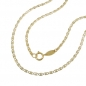 Mobile Preview: Kette - Collier - Fantasiekette - 9Kt GOLD - 45cm -530008-45