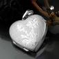 Schmuck mit Herz in Silber