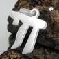 Anhänger 15x14mm hebräisches Wort Chai Symbol für Leben glänzend 925