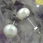 Ohrstecker Silber Zuchtperlen