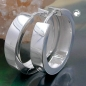 Creolen 17x4mm Klappcreole glatt glänzend Silber 925