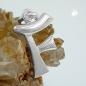 Anhänger 15x11mm Buchstabe F teilmattiert glänzend Silber 925