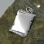 Anhänger Dokumentenrolle 22x15mm glänzend Silber 925