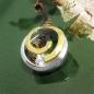 Anhänger Spirale bicolor, Silber 925