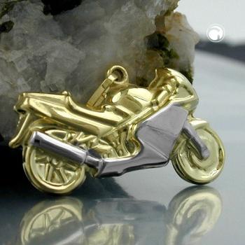 Motorrad bicolor