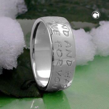Ring, LOVE HAS NO END, Silber 925 -90909-58