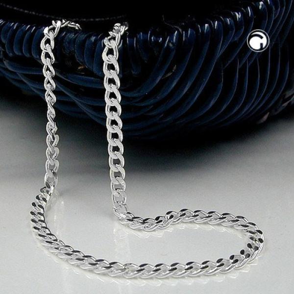 Kette, Panzerkette flach, Silber 925 -101003-70