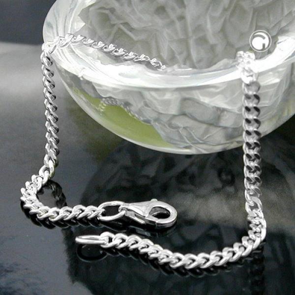 Armband 2,7mm Flachpanzerkette diamantiert Silber 925 19cm-101801-19 Preisvergleich