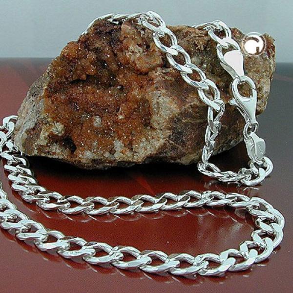 Halskette 4,7mm Weitpanzerkette Silber 925 60cm-102012-60 Preisvergleich