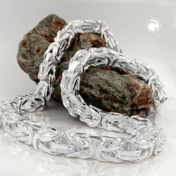 Kette 8mm Königskette Silber 925 55cm -137008-55