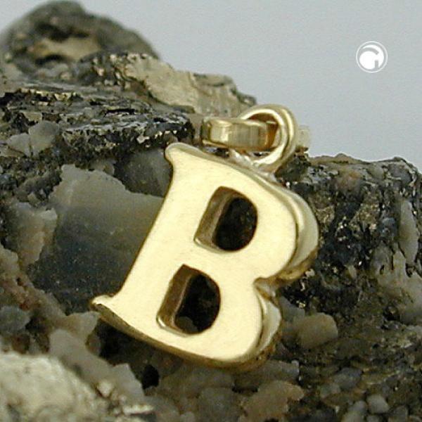 Schmuck Anhänger, Buchstabe B, 9Kt GOLD -430851