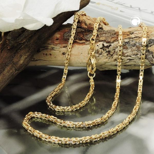 Königskette ca.2x2mm 14Kt GOLD 50cm -537001-50
