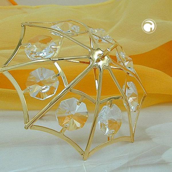 Regenschirm, mit Glas-Steinen -70004