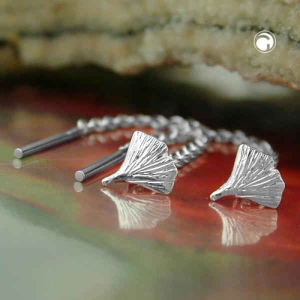 Durchzieher Ohrringe 57mm Ginkgoblatt Silber 925-92378 Preisvergleich