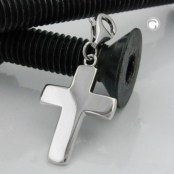 Schmuck Anhänger, Charm, Kreuz, Silber 925 -93432